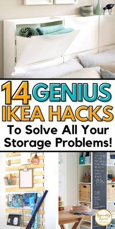 Ikea Kitchen Storage, Storage Room Organization, Small Space Organization, Ikea Storage, Storage Hacks, Organization Ideas, Storage Ideas, Toy Storage Solutions, Ikea Decor