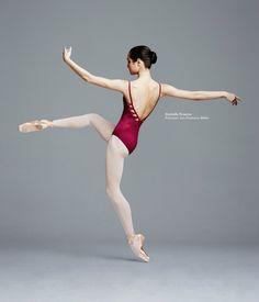 Ballerina Mathilde Froustey - San Francisco Ballet as Carmen in Le Ballet de l'Opéra National de Paris