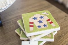 Coasters handmade in Kentucky are the perfect gift for any lucky guy or gal. Robin's Nest Interiors - Louisville Interior Design & Home Accessories Boutique located in the heart of Middletown, KY.