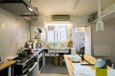 撮影にも使う料理家の作業効率最優先キッチン