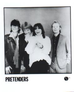 Pretenders are an English-American rock band formed in Hereford, England, in March 1978. The original band comprised initiator and main songwriter Chrissie Hynde (lead vocals, rhythm guitar), James Honeyman-Scott (lead guitar, backing vocals, keyboards), Pete Farndon (bass guitar, backing vocals), and Martin Chambers (drums, backing vocals, percussion).