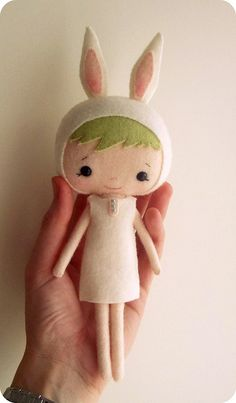 easter bunny girl by Gingermelon, via Flickr