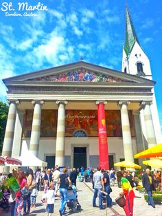 a church situated in the main city of dornbirn