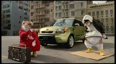 2010 Kia Soul Hamster Commercial | Black Sheep Kia Hamsters Video.  Hamsters in their Cumbies!   LoL  Gotta love this!