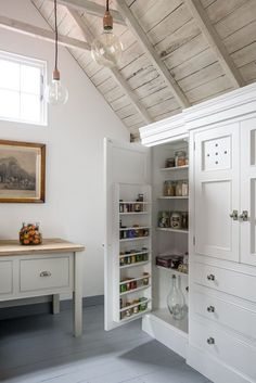 Mylands painted kitchen cupboards