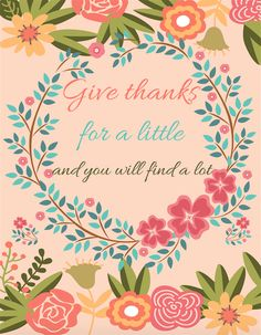 Free Thanksgiving Printables from Frugal Beautiful