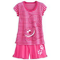 Cheshire Cat Pajama Short Set for Women