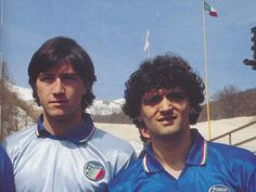 Walter Zenga y Alessandro Altobelli.