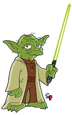 Yoda (from Star Wars) I kinda can't believe it has taken me this long to get to the little green guy, but better late than never. Dope Cartoon Art, Dope Cartoons, Cartoon Pics, Simpsons Drawings, Simpsons Art, Simpsons Characters, Graffiti Characters, Los Simsons, Simpson Tv