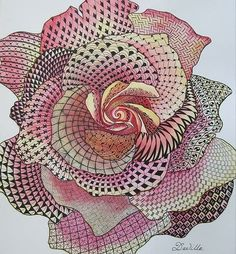 zentangle by Keunsup Shin