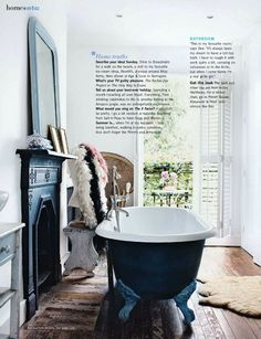 .Ahhhh, the claw foot tub.