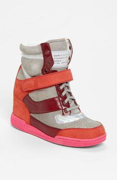 MARC BY MARC JACOBS High Top Wedge Sneaker available at #Nordstrom