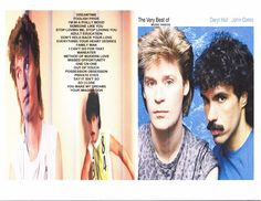 HALL AND OATES DVD MUSIC VIDEOS