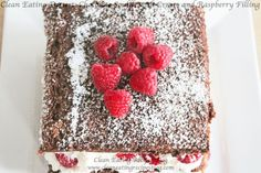 **Clean Eating Dessert: Chocolate Soufflé with Raspberry Cream Filling** | Weight Loss Meals and Recipes - Clean Eating Recipes