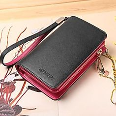 Women's Genuine Leather Short Wallets Wristlets Coin Case Purse For iphone 4/5 /6 | LightInTheBox
