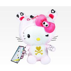 """Tokidoki x Hello Kitty 8"""" Plush ($22) ❤ liked on Polyvore"""