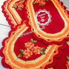 Crochet Table Mat, Crochet Placemats, Crochet Lace, Crochet Patterns, Alice, Carpet, Blanket, Blog, Crafts
