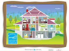 How do you save money and energy in and around your home? Comment, share, and check out this link to a fun, interactive home illustration courtesy of ENERGY STAR @ HOME. Which of these tips are already in place at your home?