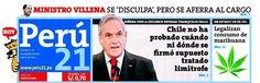 Primer día de alegatos. Chile - 06.12.12 (Perú 21 - Perú - 07.12.12). #LaHaya #Peru #Chile