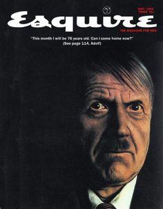Hitler (76 años) / una portada de George Lois, mayo de 1965