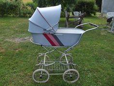 Image result for coche de bebe años 60
