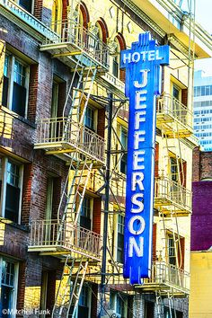 Hotel Jefferson In The Tenderloin District, San Francisco  www.mitchellfunk.com