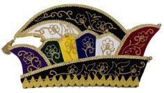 Carnaval steek. Hoge kwaliteit steken voor prins of raad van 11. Gemaakt in eigen atelier geheel naar wens van kleuren en stoffen.