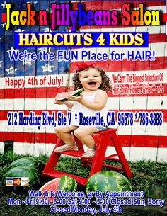 We're the FUN Place for HAIR!