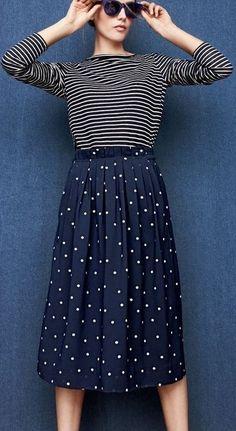 Stripes and polka dots = heaven