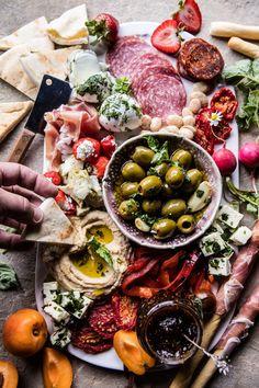 Greek Inspired Antipasto Platter | http://halfbakedharvest.com /hbharvest/