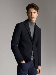 The best selection of contemporary and vintage clothing, luxury brands and many more you can buy online now Preppy Winter, Massimo Dutti Online, Vintage Outfits, Vintage Clothing, Men's Clothing, Best Shopping Sites, Leather Blazer, Blazers For Men, Sport Coat