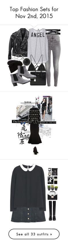 """Top Fashion Sets for Nov 2nd, 2015"" by polyvore ❤ liked on Polyvore featuring moda, H&M, Linea Pelle, Banana Republic, Kiki de Montparnasse, Acne Studios, Yves Saint Laurent, Michael Kors, Tod's i Cartier"