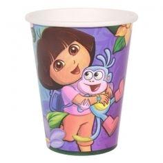 Dora, Muggar 8-pack (lila)