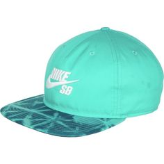 0a1f56b4 Nike SB Seasonal Snapback Hat ($19) ❤ liked on Polyvore featuring  accessories, hats
