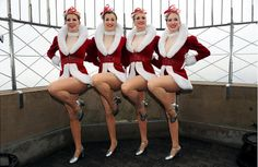 Rockettes visit Empire State Building - slide 2 - NY Daily News