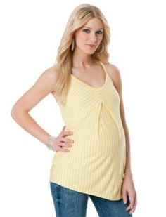A Pea in the Pod: Sleeveless Scoop Neck Trapeze Maternity Tank Top A Pea in the Pod. $19.99
