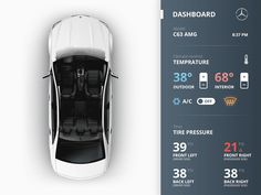 The state of UI design in most vehicles today is widely criticized for being unintuitive, outdated, and aesthetically unappealing. Car manufacturers have been slow to implement the quality of design… Dashboard Ui, Dashboard Design, Mobile App Design, Mobile Ui, Auto Ui, Car App, Web Design, Instruments, User Interface Design