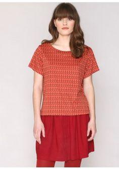 Camiseta Print Rust