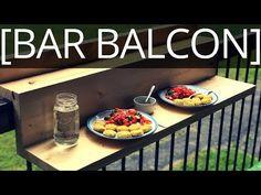 Comment faire un bar pour balcon suspendu - EP40 - YouTube