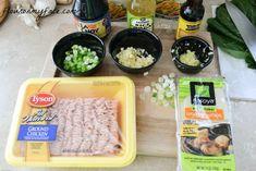 Tyson, ground chicken, soup, recipe, ingredients