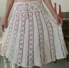 Fabulous Crochet a Little Black Crochet Dress Ideas. Fabulously Georgeous Crochet a Little Black Crochet Dress Ideas. Crochet Skirt Pattern, Crochet Skirts, Crochet Clothes, Black Crochet Dress, Crochet Blouse, Crochet Lace, Crochet Summer, Crochet Woman, Diy Dress