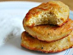Chickpea Patties- Theo loves these!