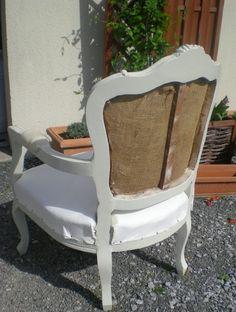 Les secrets de famille: Les coulisses d'une rénovation de fauteuil Louis XV