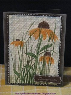 Inspired by Nature by CaroV - Cards and Paper Crafts at Splitcoaststampers