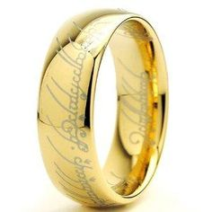 LOTR Ring... I would definitely wear this :)
