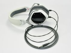 V-Moda M100 with Moon Audio Silver Dragon Headphone cable V3 Hardwired