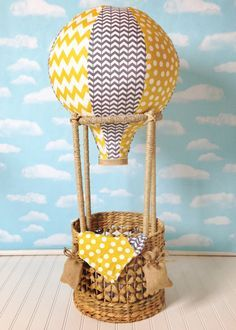 Complete Hot Air Balloon Photo Prop Newborn by SewLovedCottage