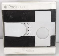 Genuine APPLE iPod NANO Armband Gray NEW - MA663G/A Exercise Running Strap Band #Apple