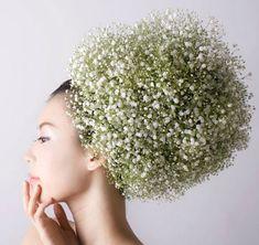 Картинки по запросу украшение волос цветами