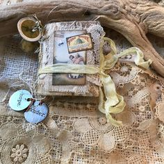 """Thoughts Journals on Instagram: """"Micro Mini-A Bee's Life...Etsy.com/shop/thoughtsjournals #junkjournal #minijournals #minijunkjournals #bees"""" Journal Covers, Junk Journal, Bees, Journals, Thoughts, Mini, Shopping, Instagram, Magazines"""
